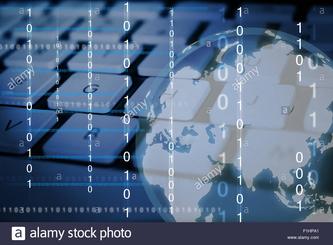 Digital World - Stock Image