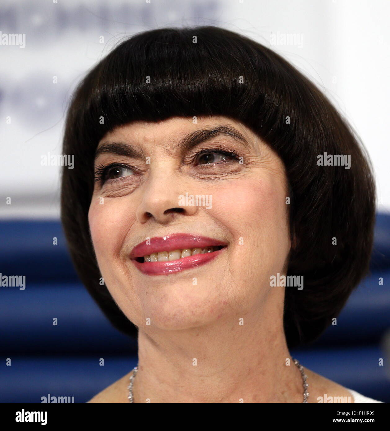 Moscow, Russia. 2nd Sep, 2015. French singer Mireille ...  Mireille Mathieu 2017