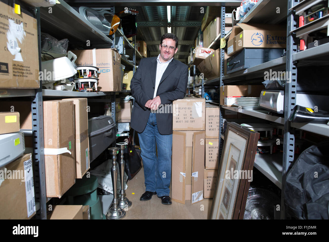 David Bracken Entrepreneur Who Makes His Living Buying And Selling On Stock Photo Alamy