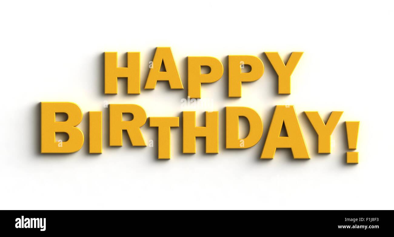 Happy Birthday Stock Photos & Happy Birthday Stock Images - Alamy