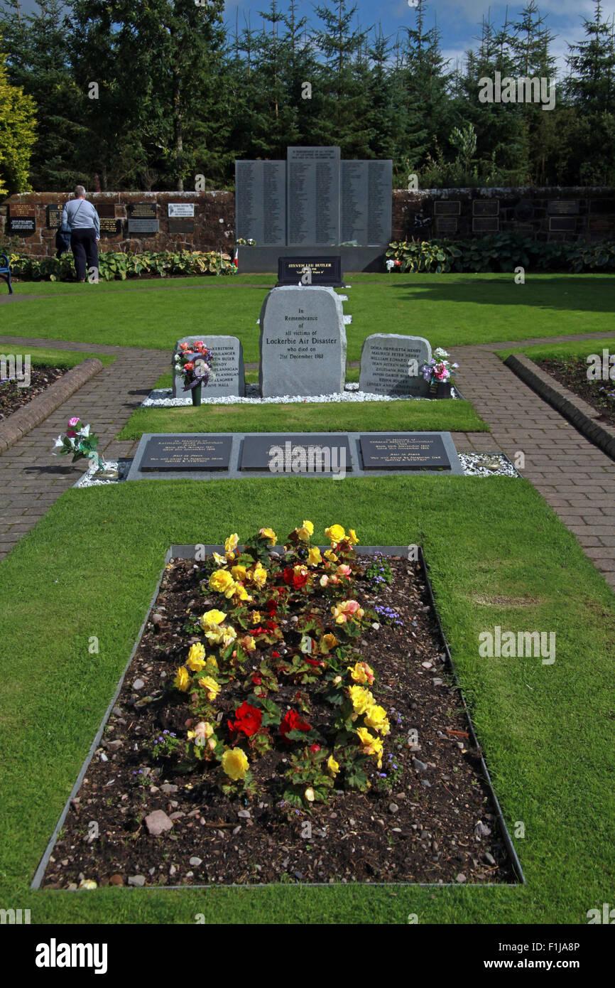 Lockerbie PanAm103 In Rememberance Memorial - Stock Image