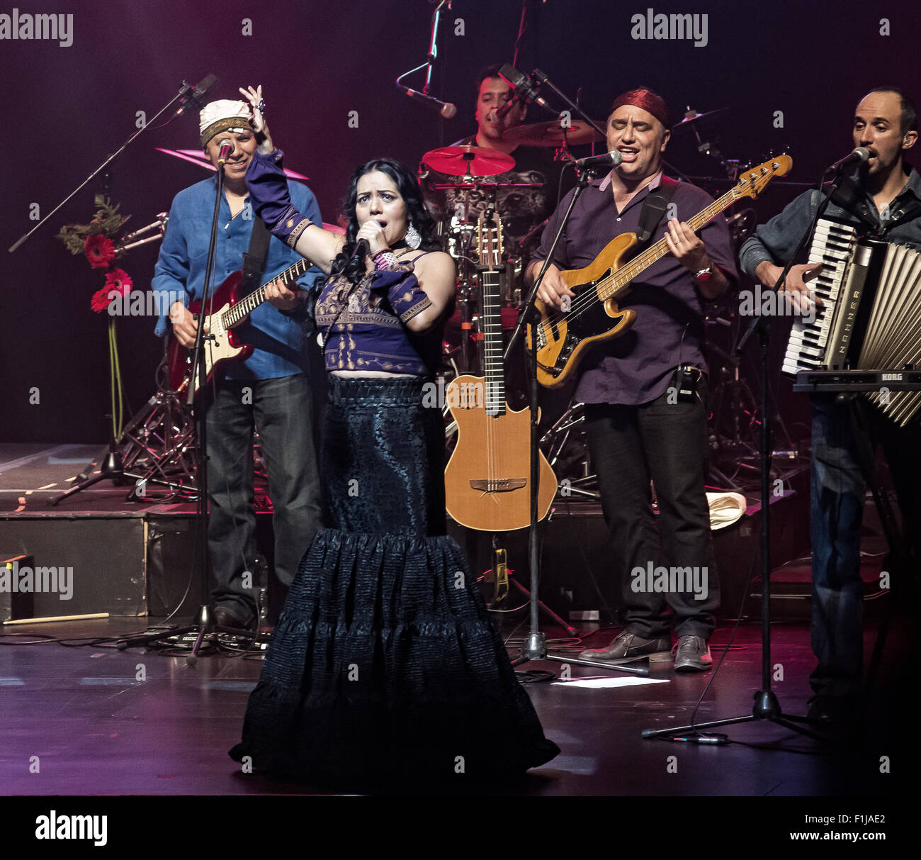 Uruguay  29th Aug, 2015  Lila Downs is one of the most important