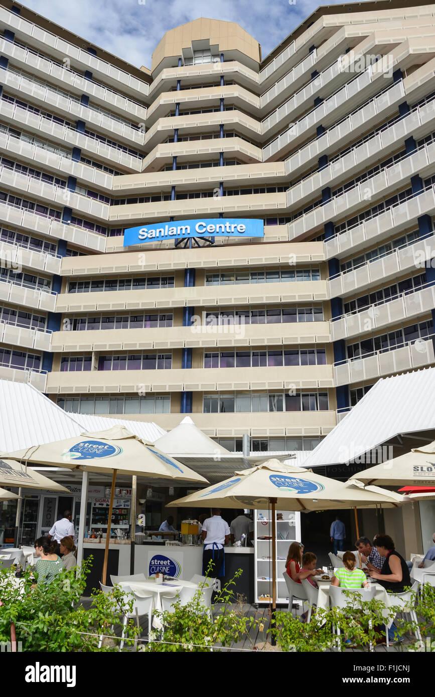 Sanlam Centre, Independence Avenue, Windhoek (Windhuk), Khomas Region, Republic of Namibia - Stock Image