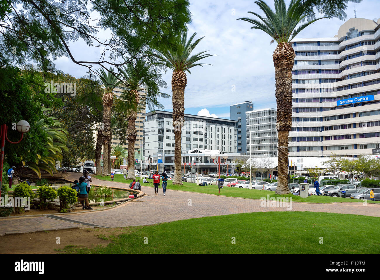 Zoopark, Independence Avenue, Windhoek (Windhuk), Khomas Region, Republic of Namibia - Stock Image