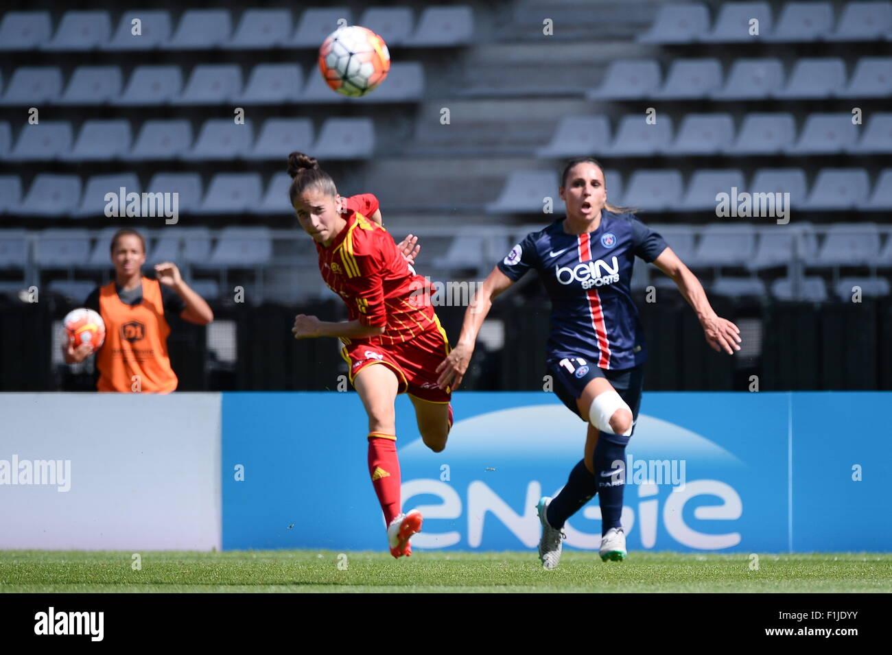 Jessica HOUARA D HOMMEAUX - 30.08.2015 - PSG/Rodez - 1ere journee D1 Feminine.Photo : Nolwenn Le Gouic/Icon Sport - Stock Image
