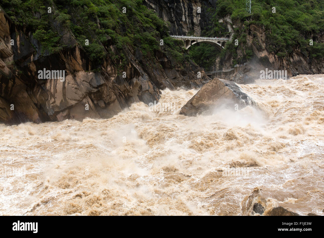 Tiger Leaping Gorge in Lijiang, Yunnan Province, China. - Stock Image