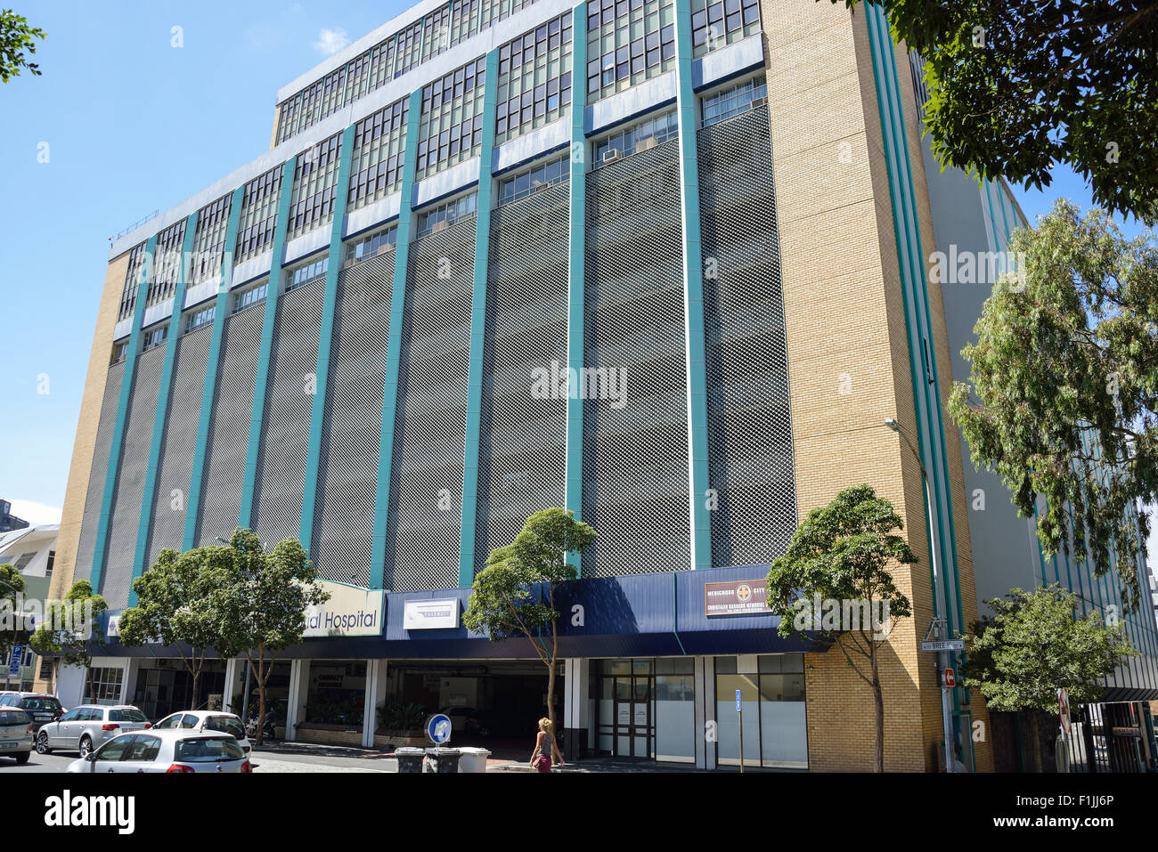 Christiaan Barnard Memorial Hospital, Bree Street, Cape Town, Western Cape Province, Republic of South Africa - Stock Image