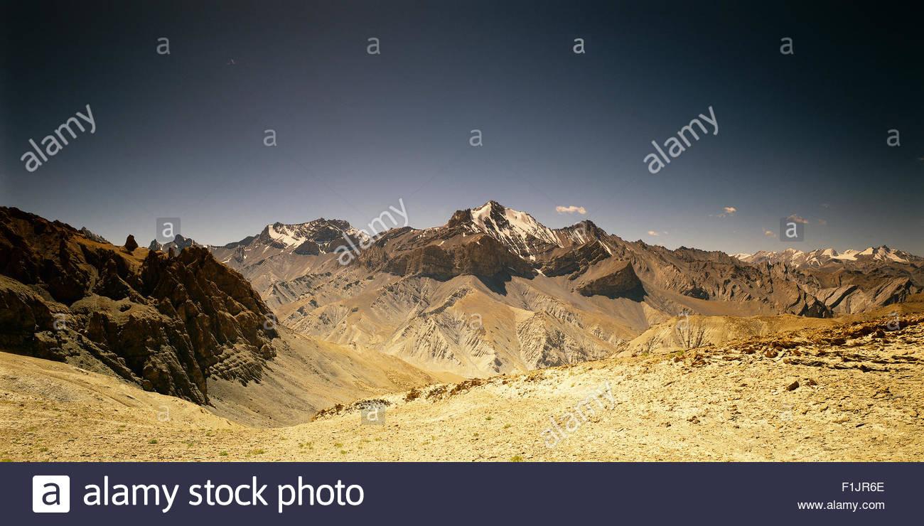 Himalayas Ladakh, India - Stock Image