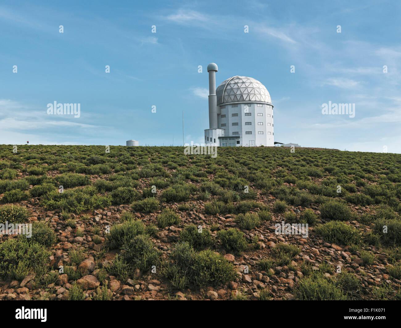 South African Large Telescope (SALT) - Stock Image