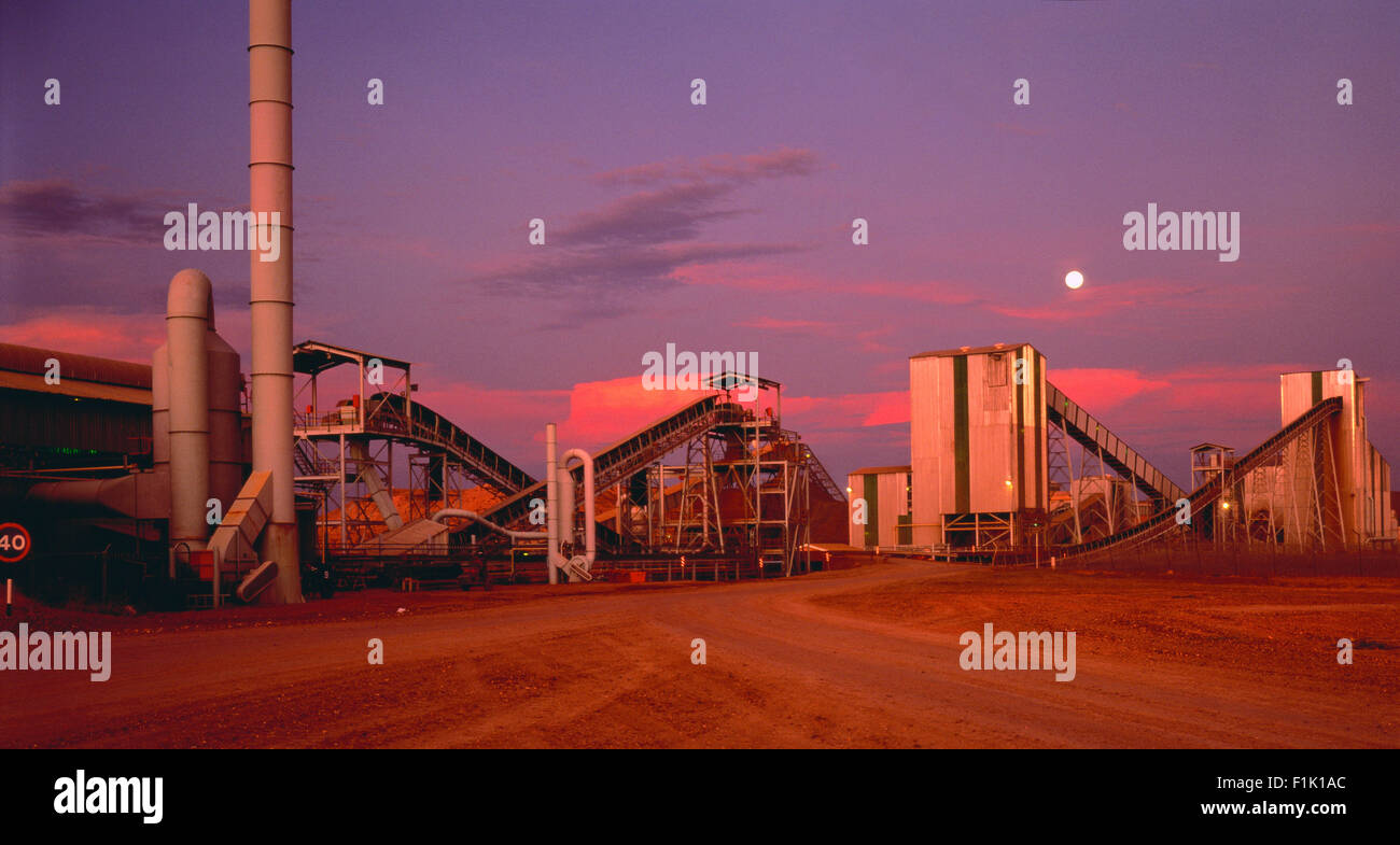 Venecia Diamond Mine Northern Transvaal, Mpumalanga, South Africa - Stock Image