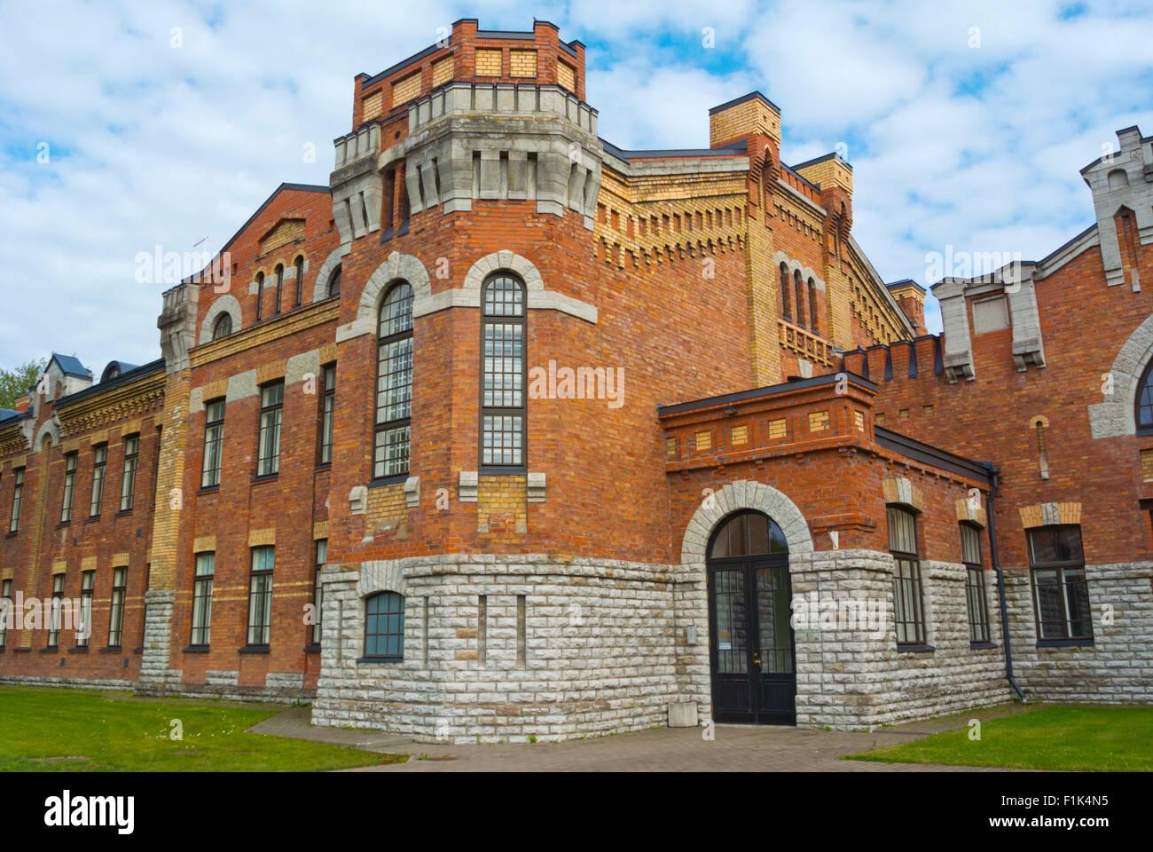 Former Tondi barracks, now housing a school, Tallinn, Harju county, Estonia, Europe - Stock Image