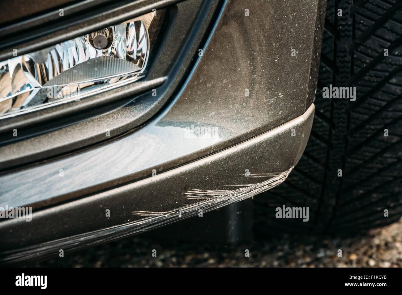 Car Paint Damage Stock Photos & Car Paint Damage Stock