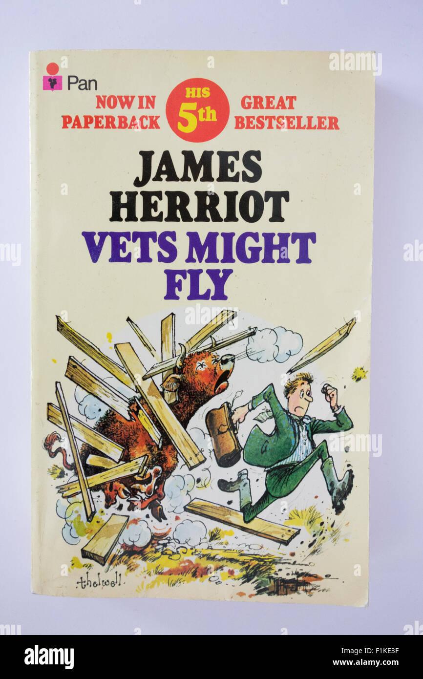 An old James Herriot paperback - Stock Image