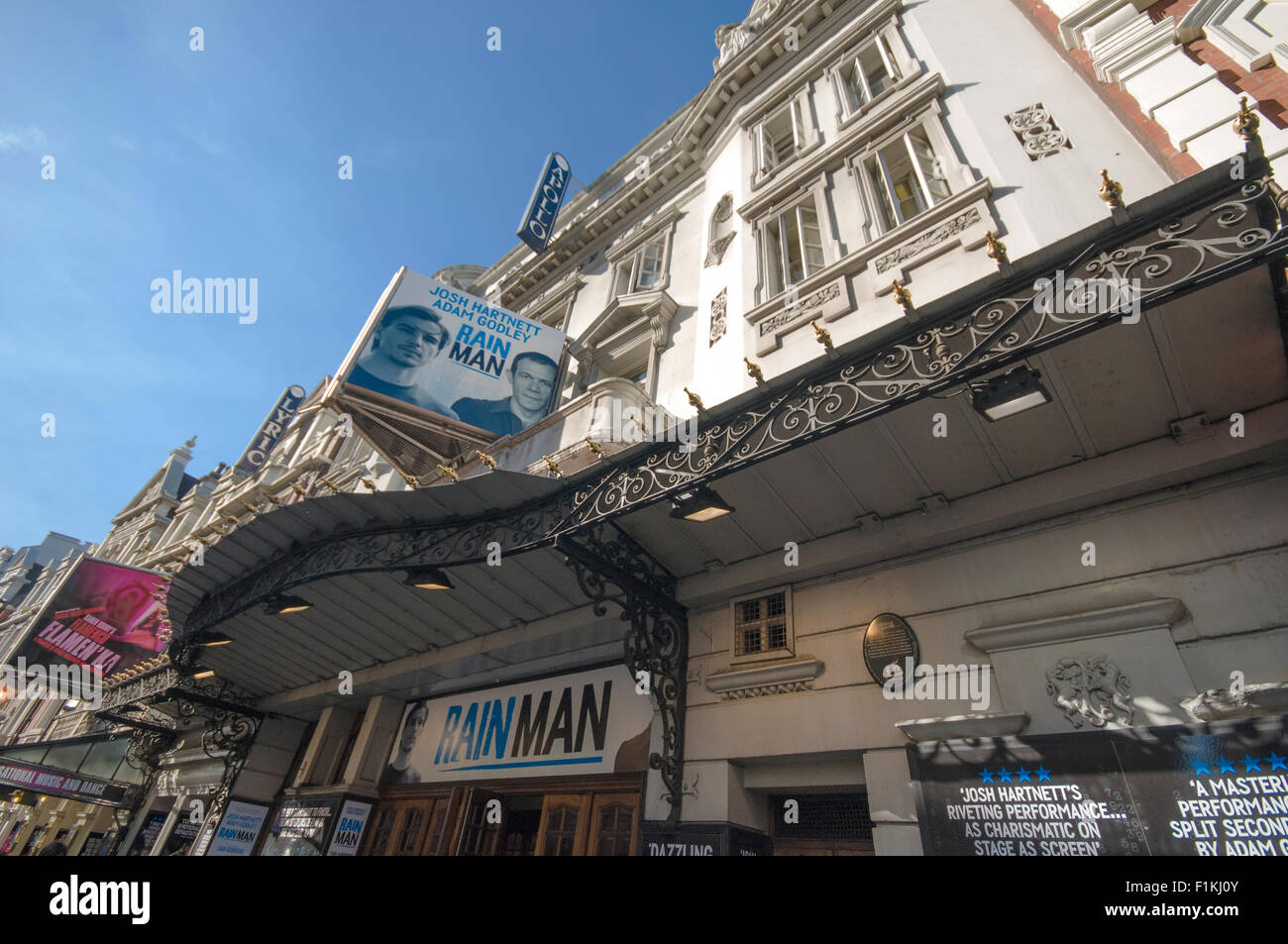 Apollo Theatre, Shaftesbury Avenue, London - Stock Image