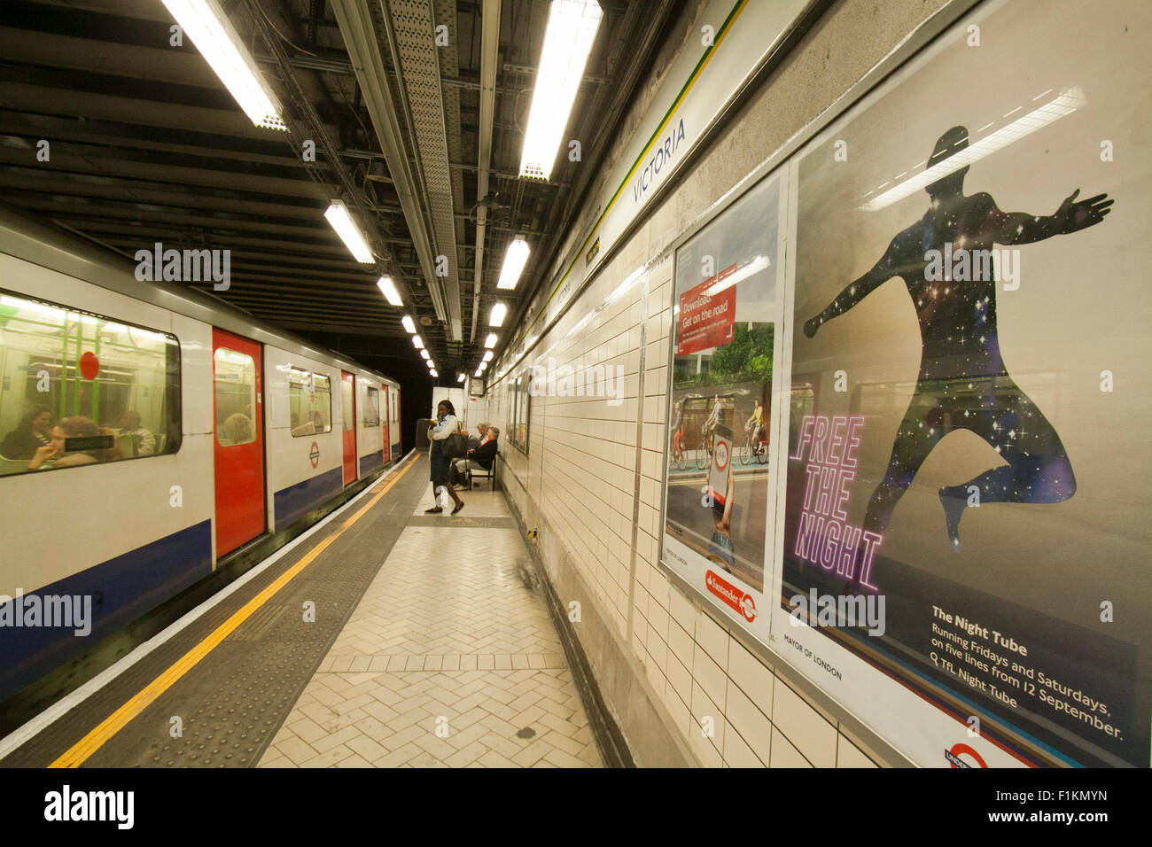 London,UK. 3rd September 2015. London Underground has delayed the start of the Night Tube scheduled for September - Stock Image