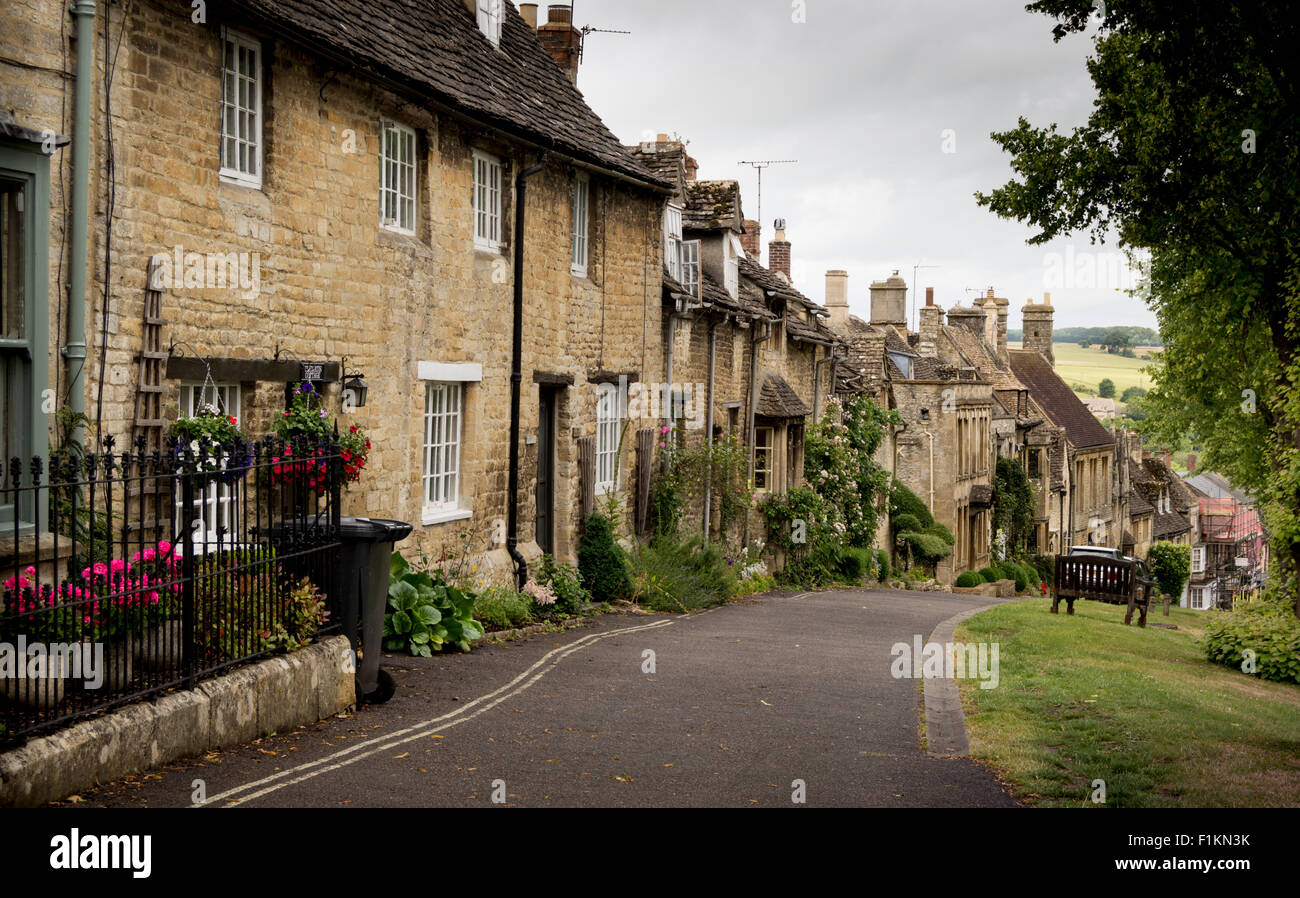 Burford, Oxfordshire, United Kingdom, Cotswold Town. - Stock Image