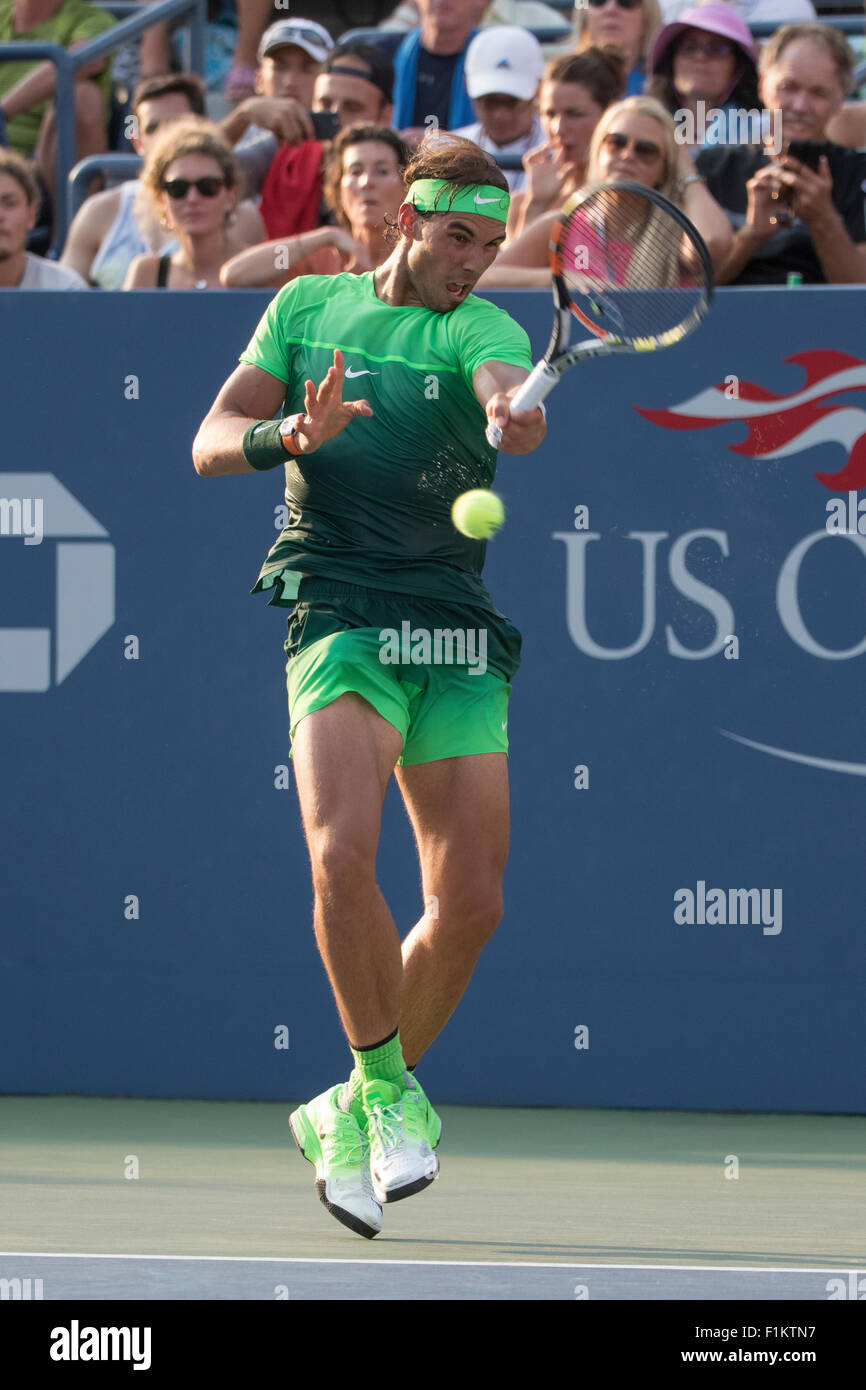 d88e1a1bdcfab8 Rafael Nadal (ESP) competing at the 2015 US Open Tennis Stock Photo ...