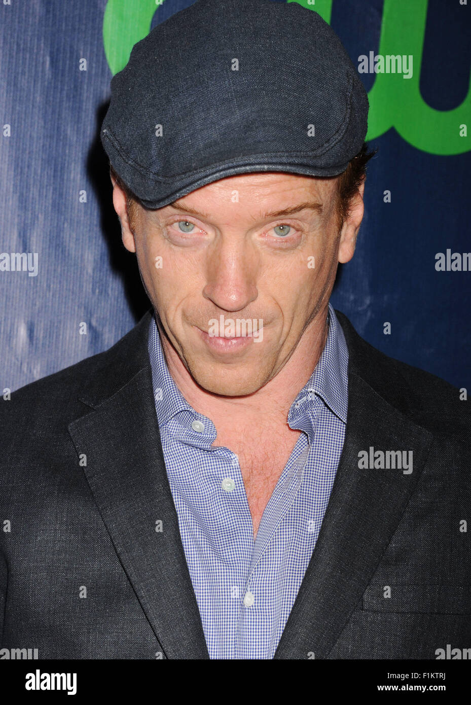 DAMIAN LEWIS English actor  in August 2015. Photo Jeffrey Mayer Stock Photo