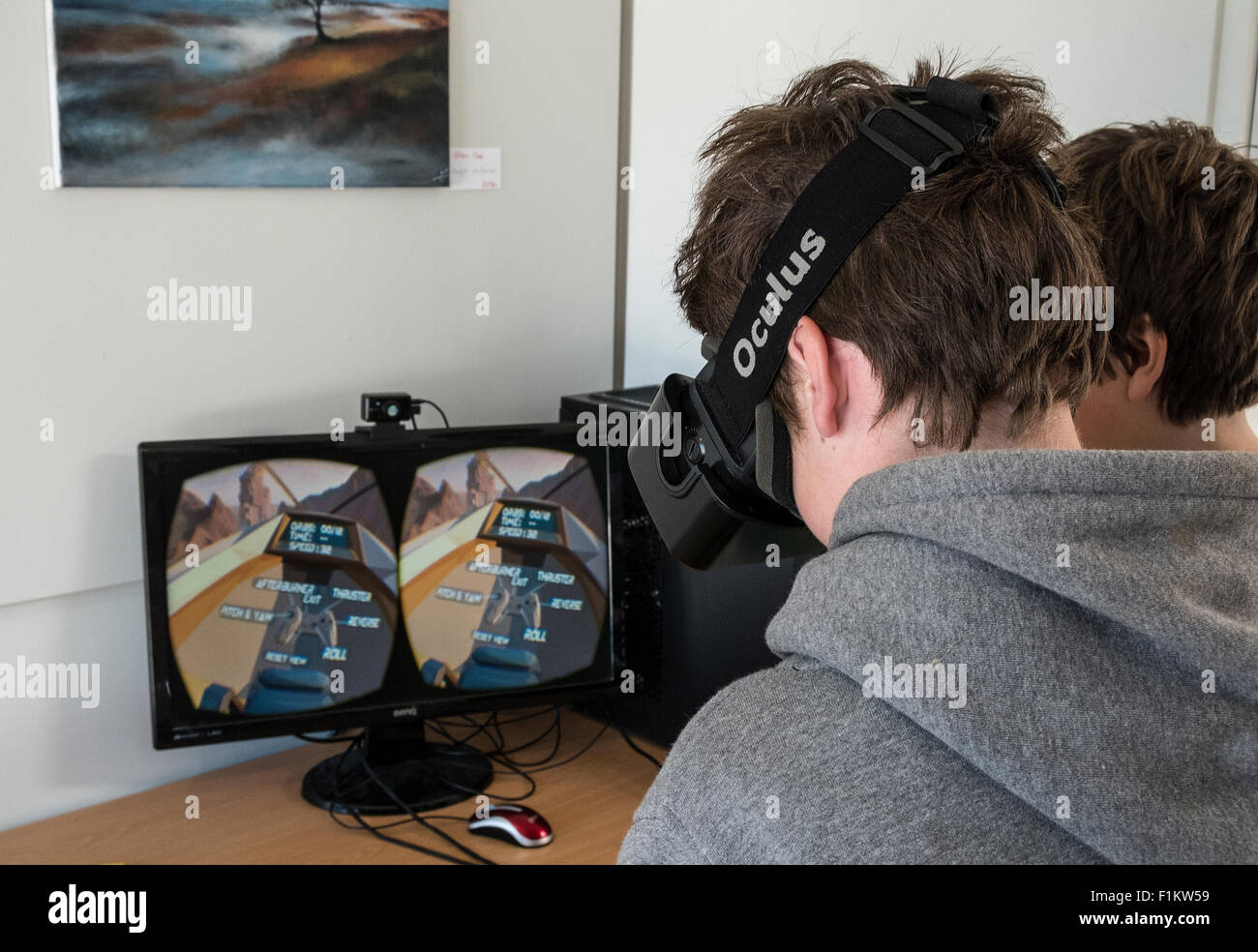Oculus Rift Game Stock Photos & Oculus Rift Game Stock