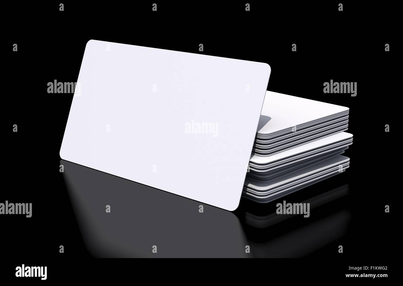 Mockup of blank white rounded corners business cards on black glossy mockup of blank white rounded corners business cards on black glossy background reheart Choice Image
