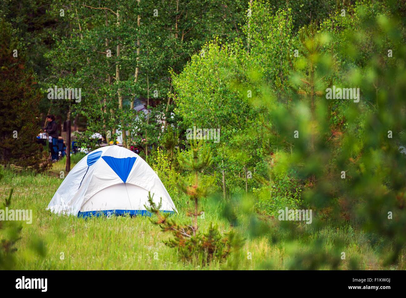 Small Blue Tent Stock Photos & Small Blue Tent Stock Images - Alamy