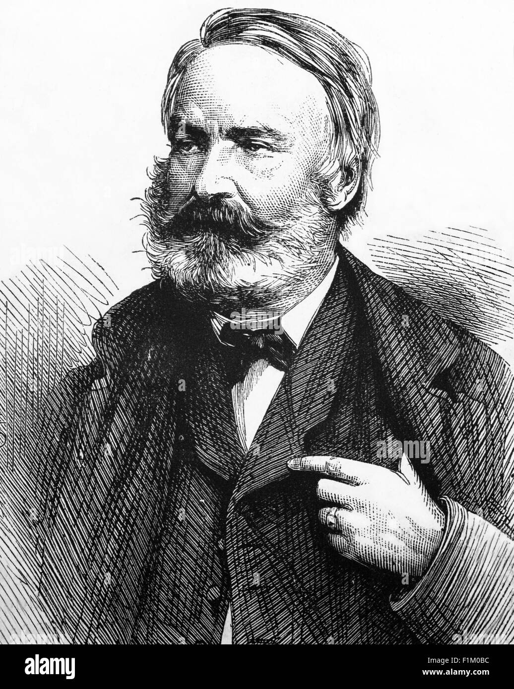 36 Color Paintings of Victor Hugo - French Romantic Painter (February 26, 1802 - May 22, 1885)