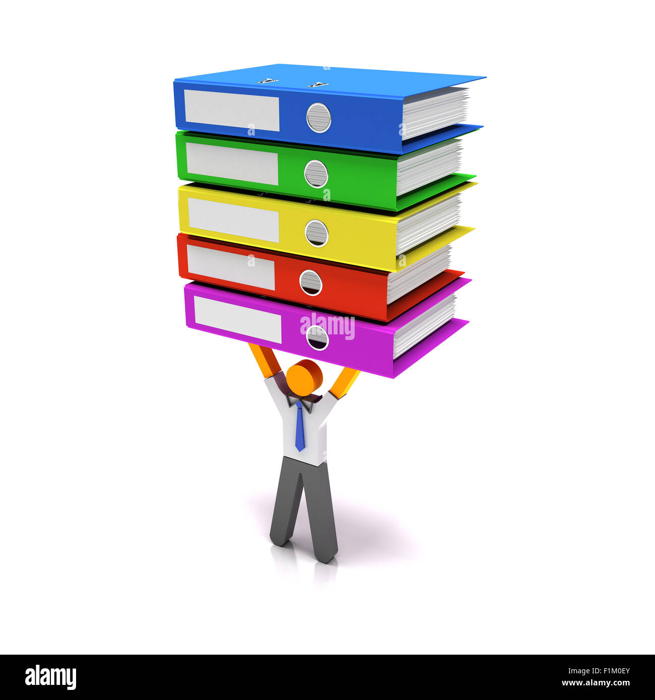 Heavy workload - Stock Image