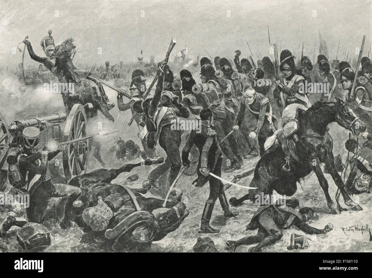 Charge of 3rd division at Salamanca 1812