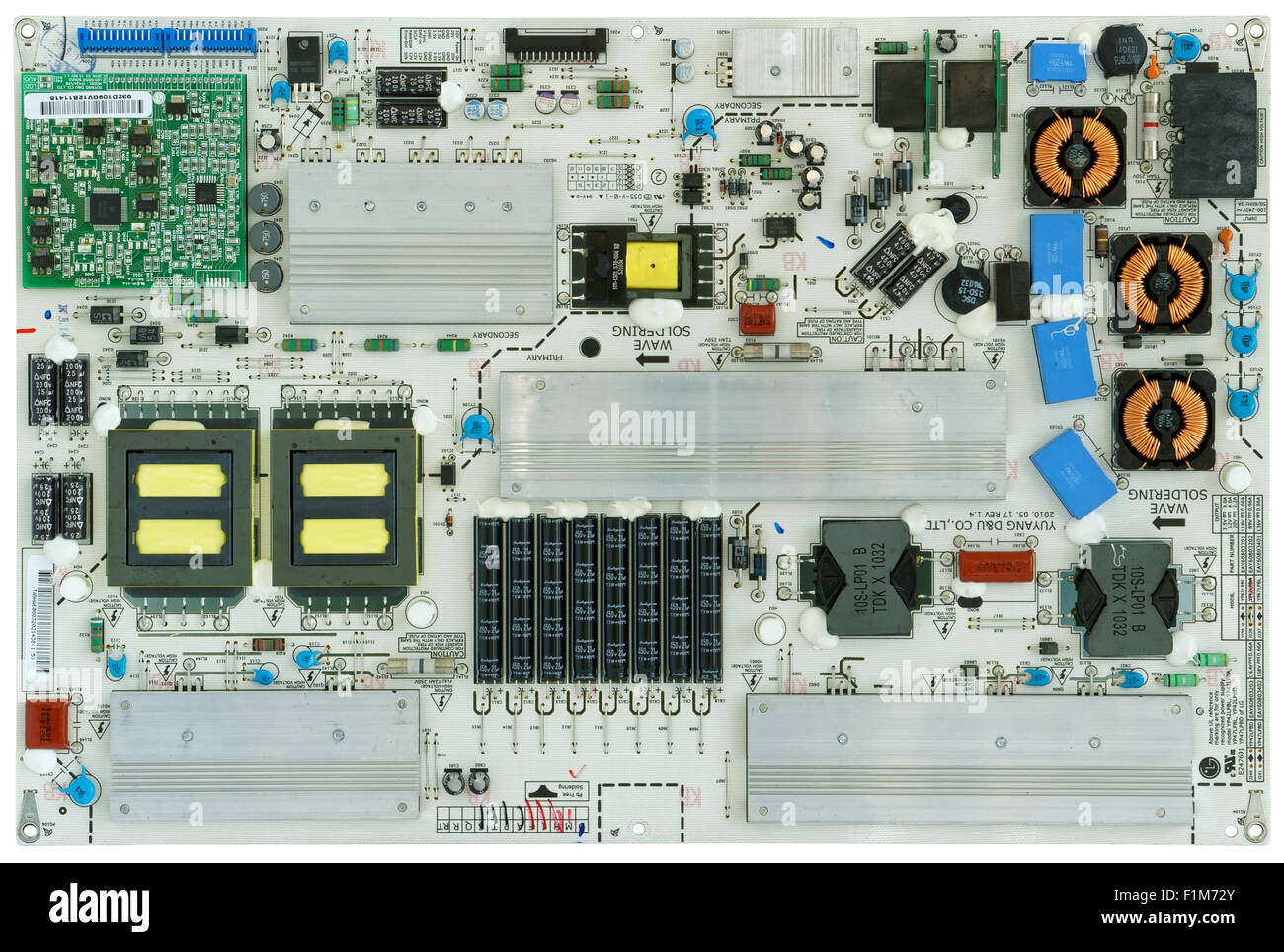 Printed Circuit Board Lg Tv Not Lossing Wiring Diagram Modern Of The Powerful Power Supply For Rh Alamy Com