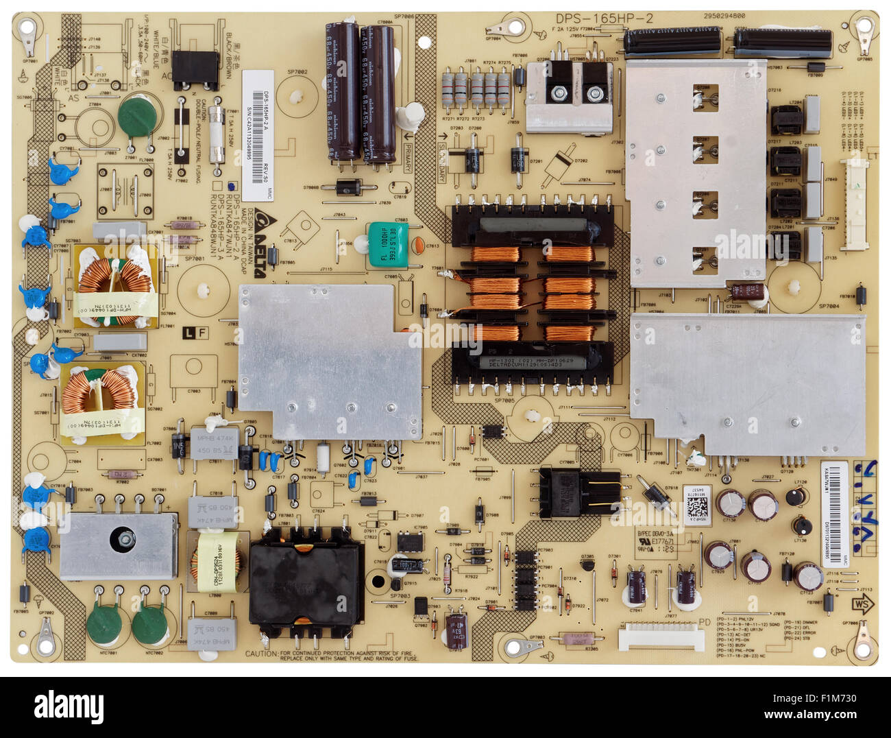 Modern Printed Circuit Board Of The Powerful Power Supply For Sharp On A Good Quality Pcb Or Common Brand Tvs And Display