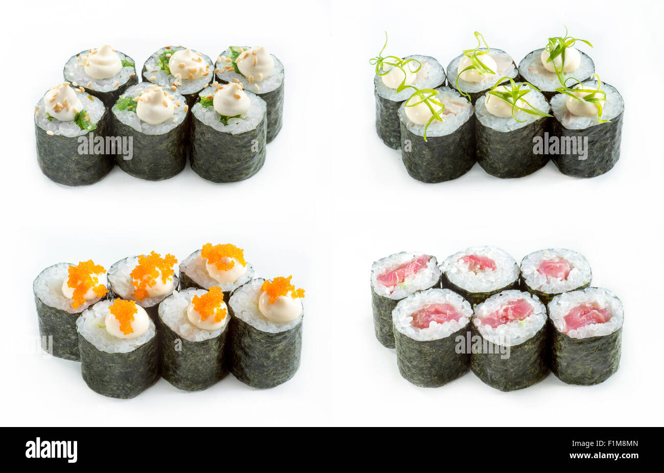 Sushi rolles - Stock Image