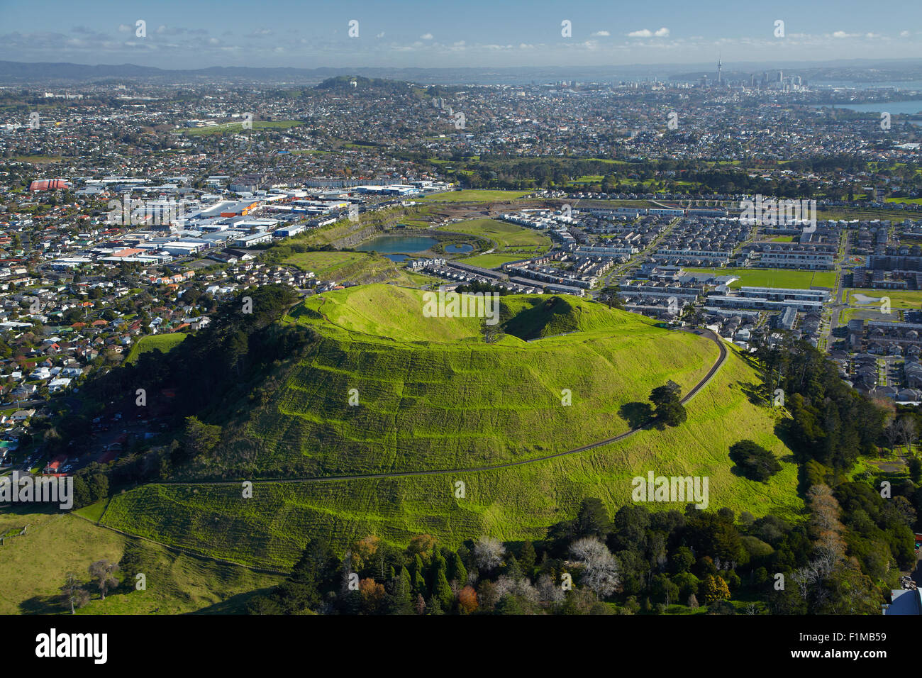 Mount Wellington Domain Auckland North Island New Zealand