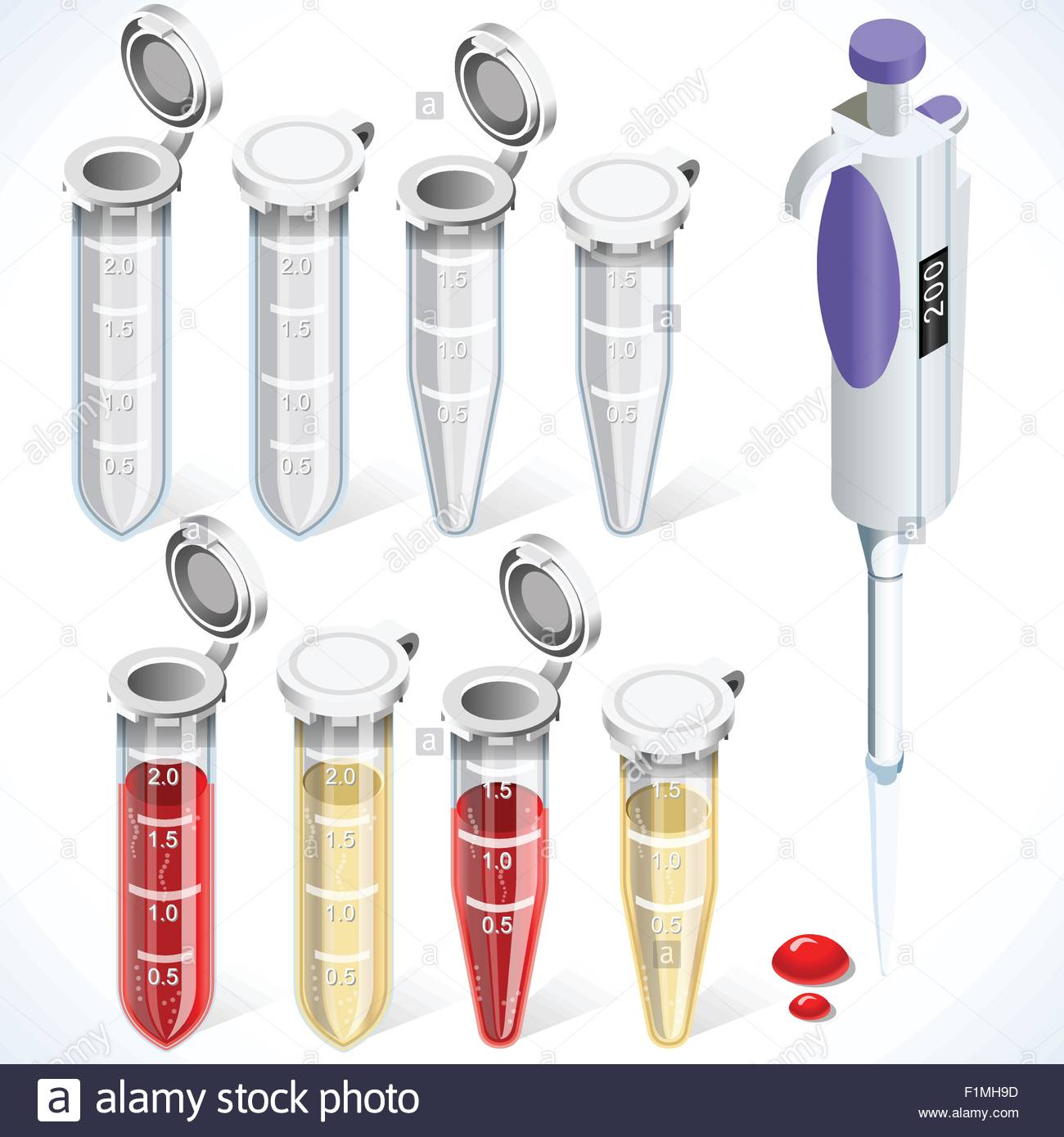 Eppendorf Sample Stock Vector Images - Alamy