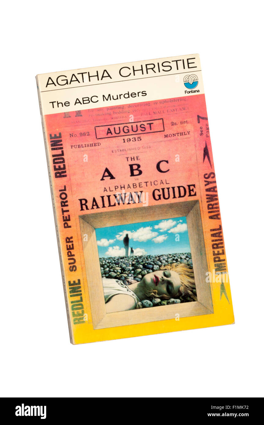Collins paperback edition of The ABC Murders by Agatha Christie.  First published in 1936. - Stock Image