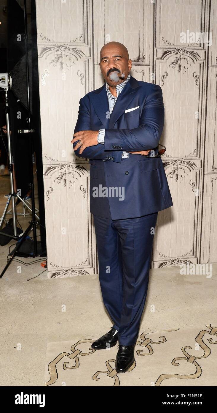 New York Ny Usa 4th Sep 2015 Steve Harvey In Attendance For Aol