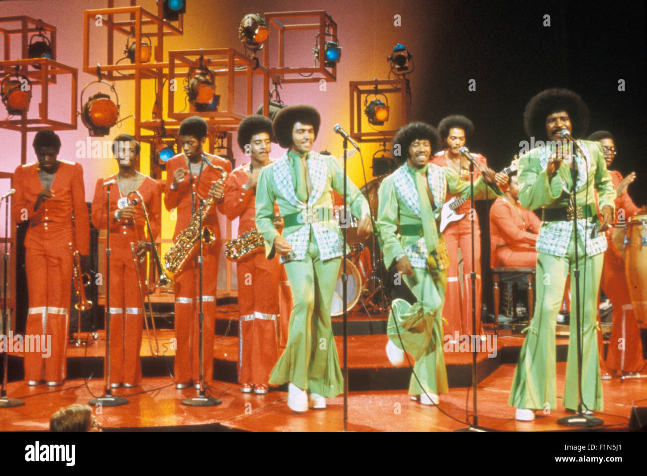 CHI-LITES US group about 1972 - Stock Image