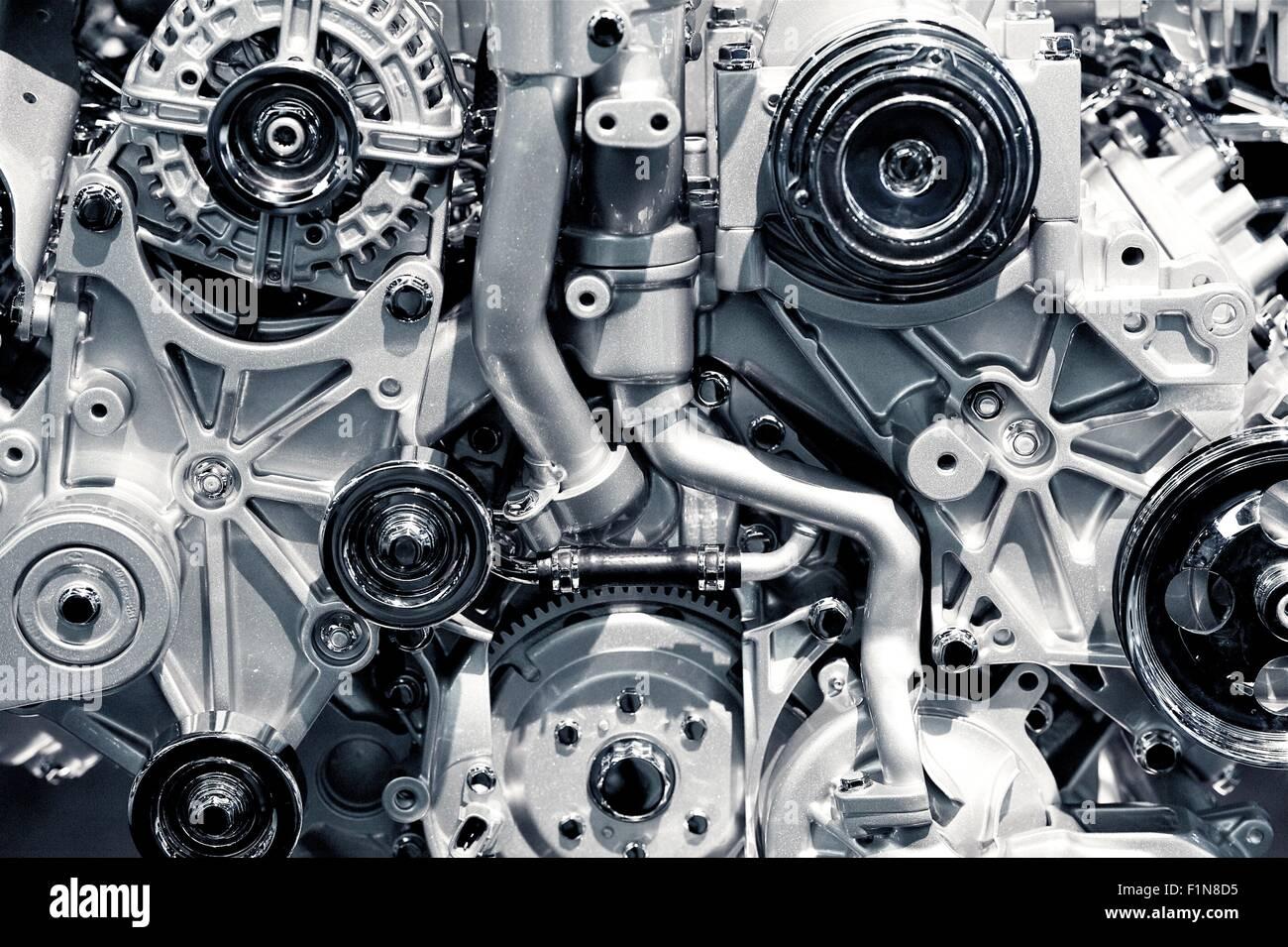Gas Engine Closeup Background Photo Car Engine Stock Photo Alamy