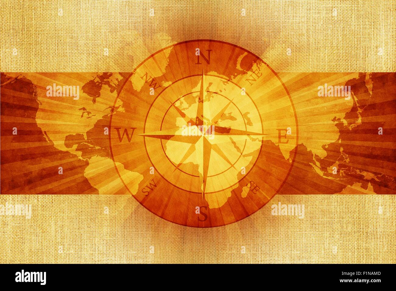 Old vintage world map with compass rose on canvas abstract stock old vintage world map with compass rose on canvas abstract illustration gumiabroncs Image collections