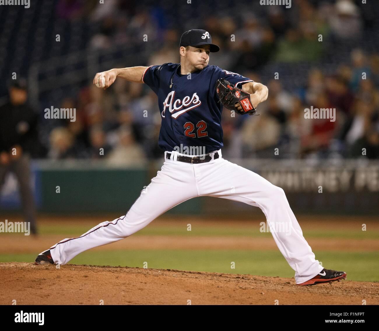 March 12, 2014 - Reno, Nevada, U S - Reno Aces Pitcher ALLEN