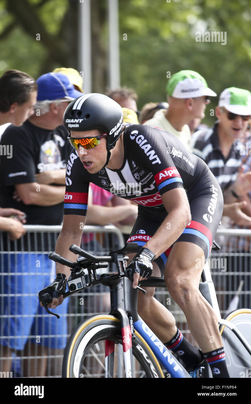 Tour De France 2015 Stage 1 Featuring Koen De Kort Where Stock