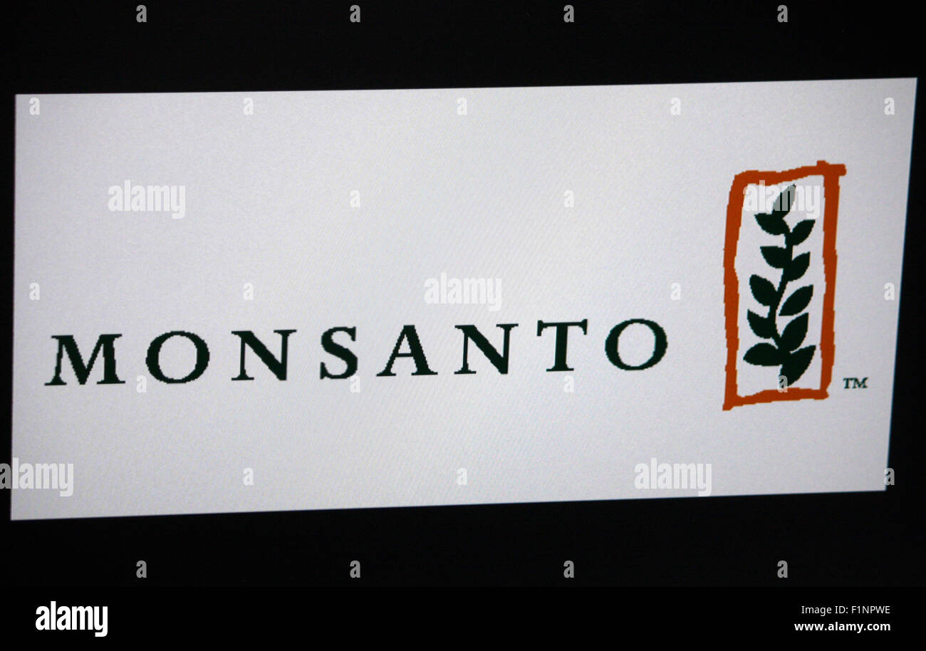 Markenname: 'Monsanto', Berlin. - Stock Image