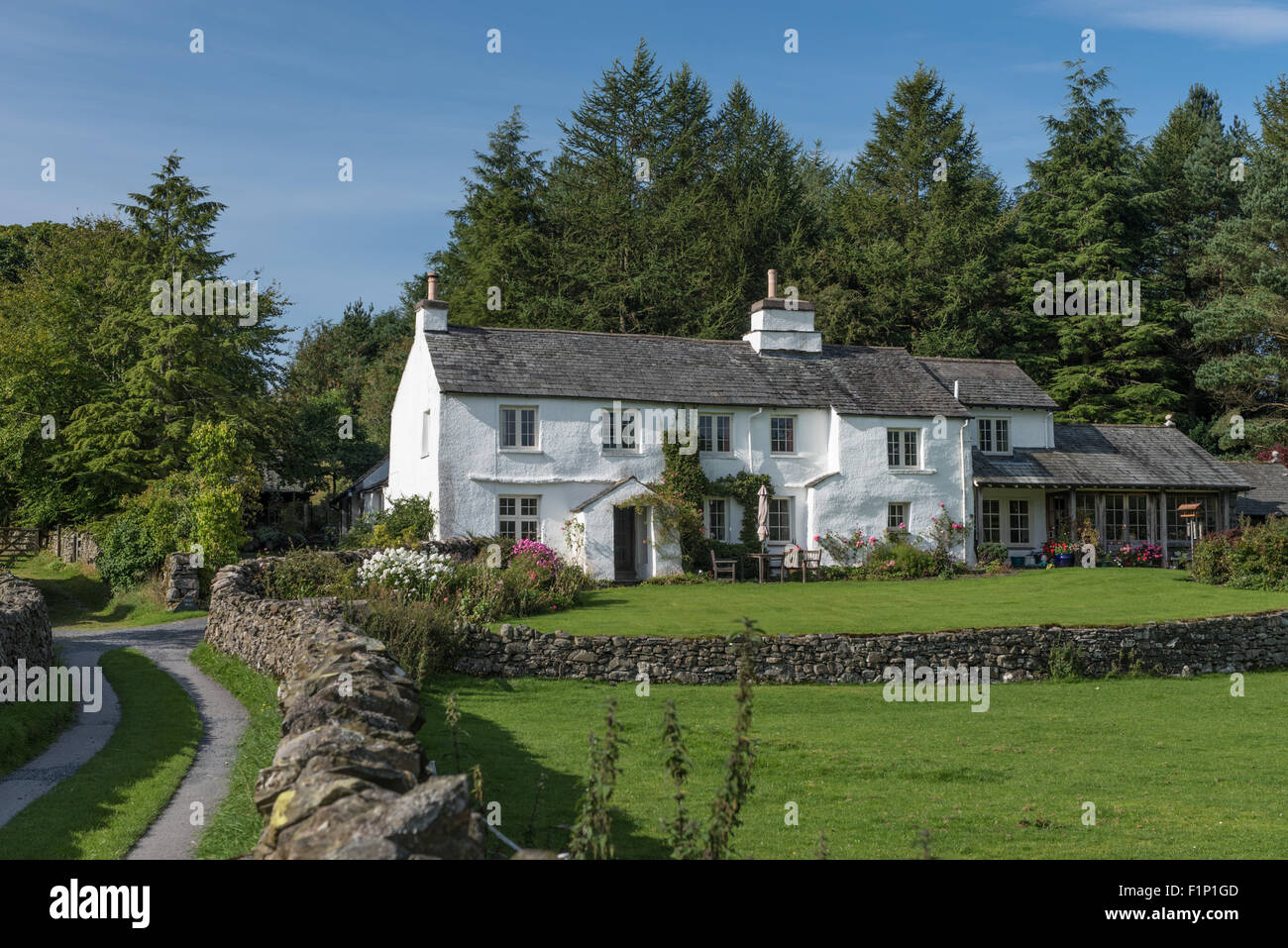 Croft Head in the Kentmere Valley of Cumbria - Stock Image
