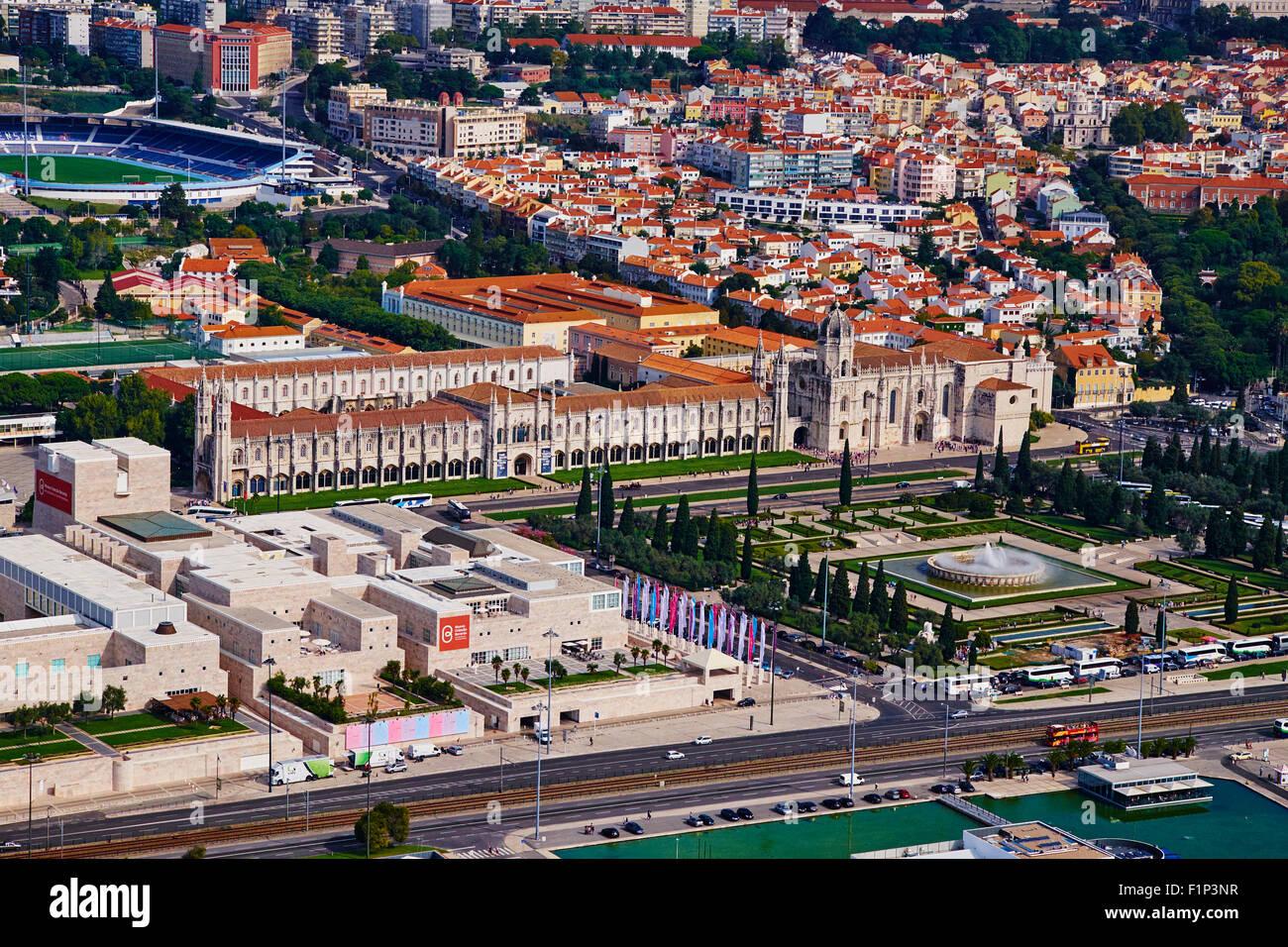 Portugal, Lisbon, mosteiro dos Jeronimos, Jeronimos monastery - Stock Image
