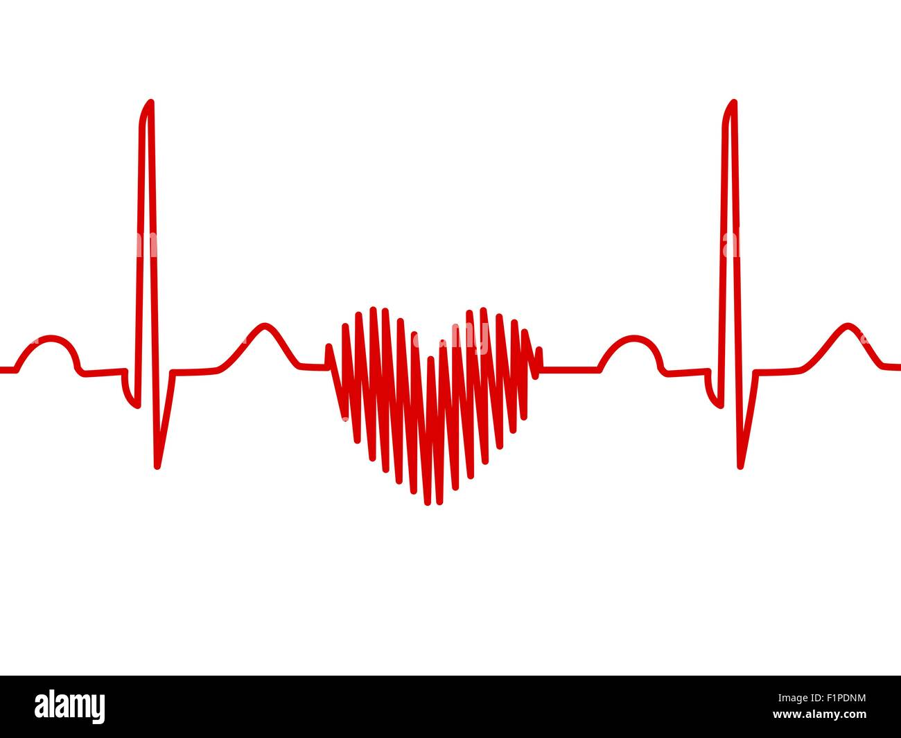 Computer artwork of a heart shaped electrocardiogram ecg trace an computer artwork of a heart shaped electrocardiogram ecg trace an ecg measures the electrical activity of the heart ccuart Image collections