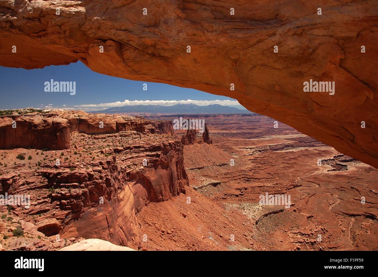 Arches Park and Canyonland, Utah USA. Utah Landscapes. - Stock Image