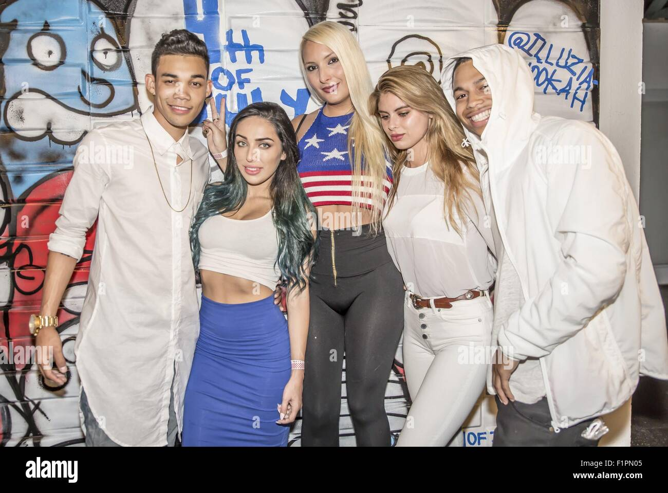 roshon fegan hosts a 4th of july party at warehouse 300 in downtown