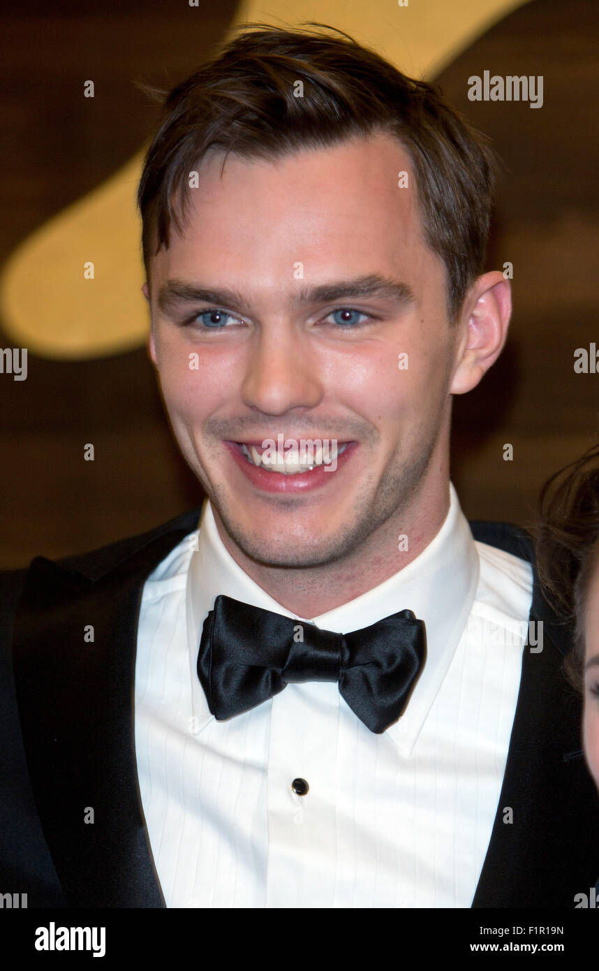 Venice, Italy. 5th September, 2015. Actor Nicholas Hoult attends the premiere of Equals during the 72nd Venice Film Stock Photo