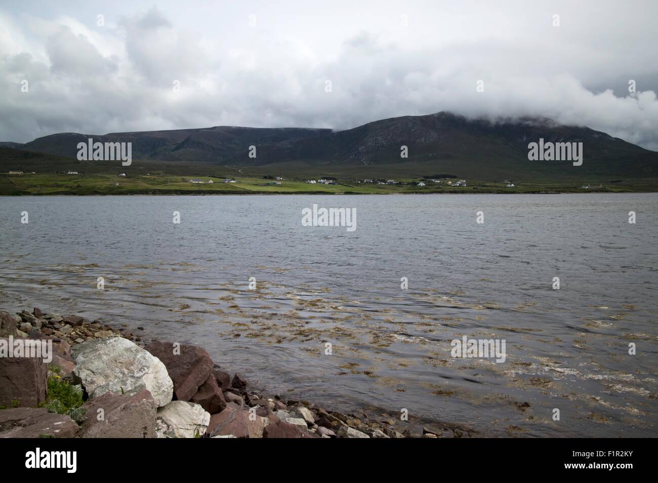achill sound Achill Island County Mayo Ireland - Stock Image