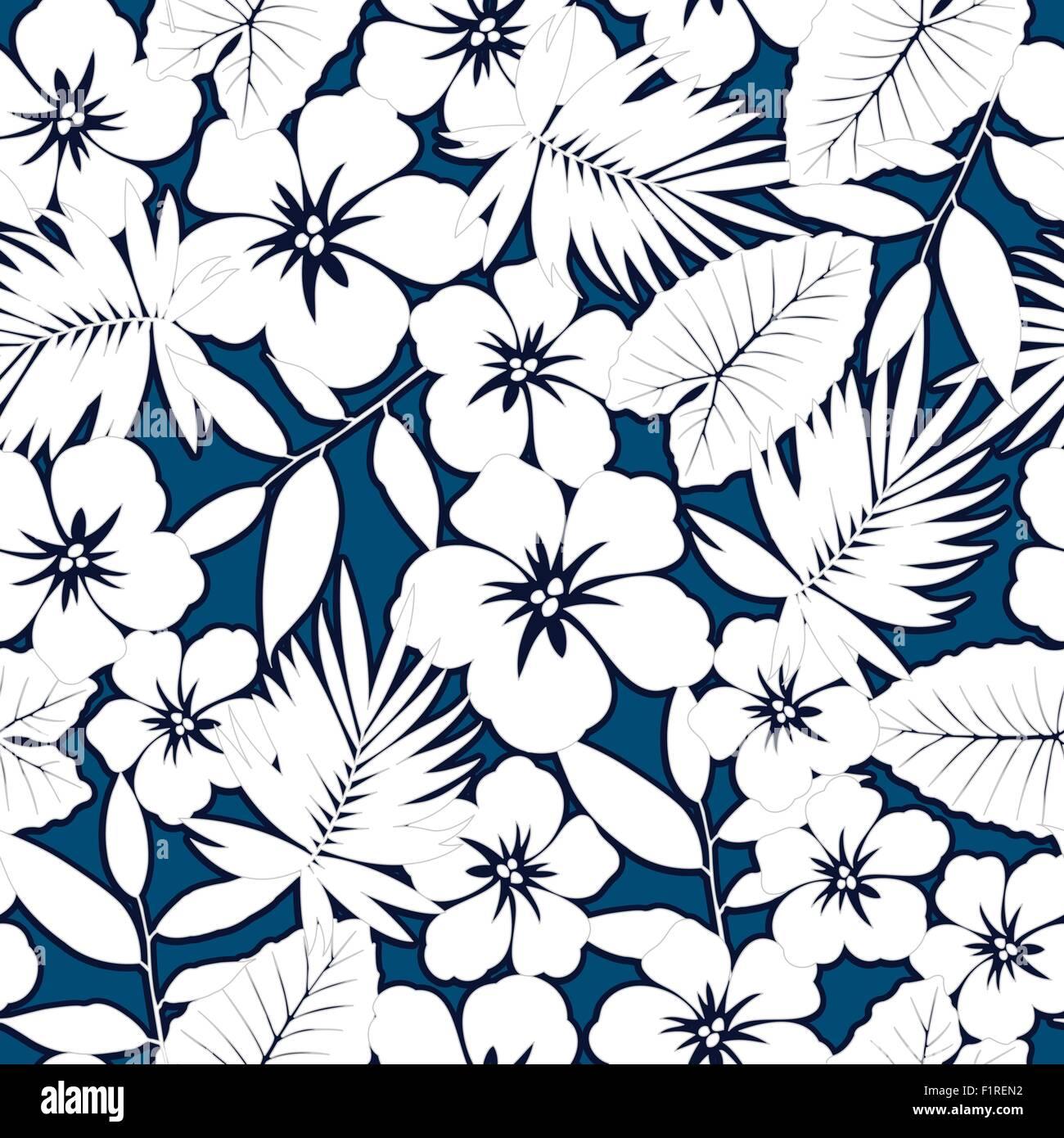 Hawaiian Shirt Pattern High Resolution Stock Photography and ...