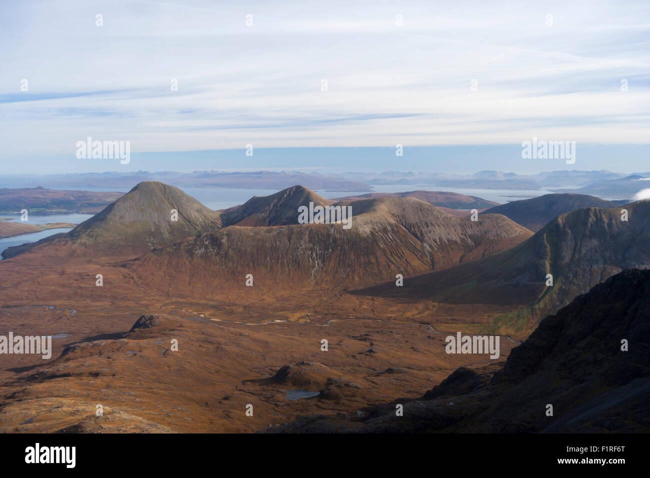 The Red Hills, Isle of Skye, Scotland, UK - Stock Image